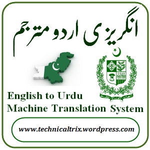 English-to-Urdu-Machine-Translation-System